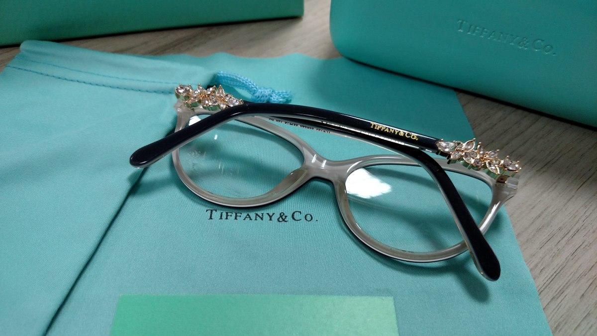 Armação Óculos De Grau Tiffany Tf2144 Preta Frete Grátis - R  249,90 ... 94f7662da1