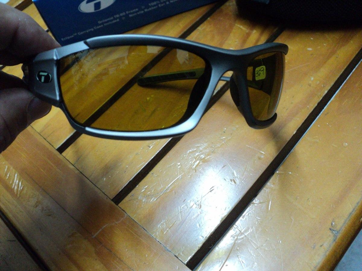 fb048ec432 Óculos Tifosi Dolomite T-vp290 Lente Fechada Ambar Amarelo - R  199 ...