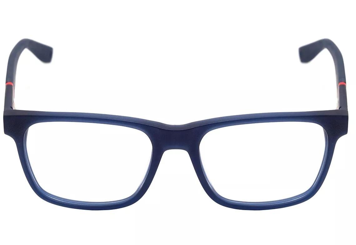 Óculos Tommy Hilfiger Th1282 Azul Com Azul Marinho - R  800,00 em ... 514d113100