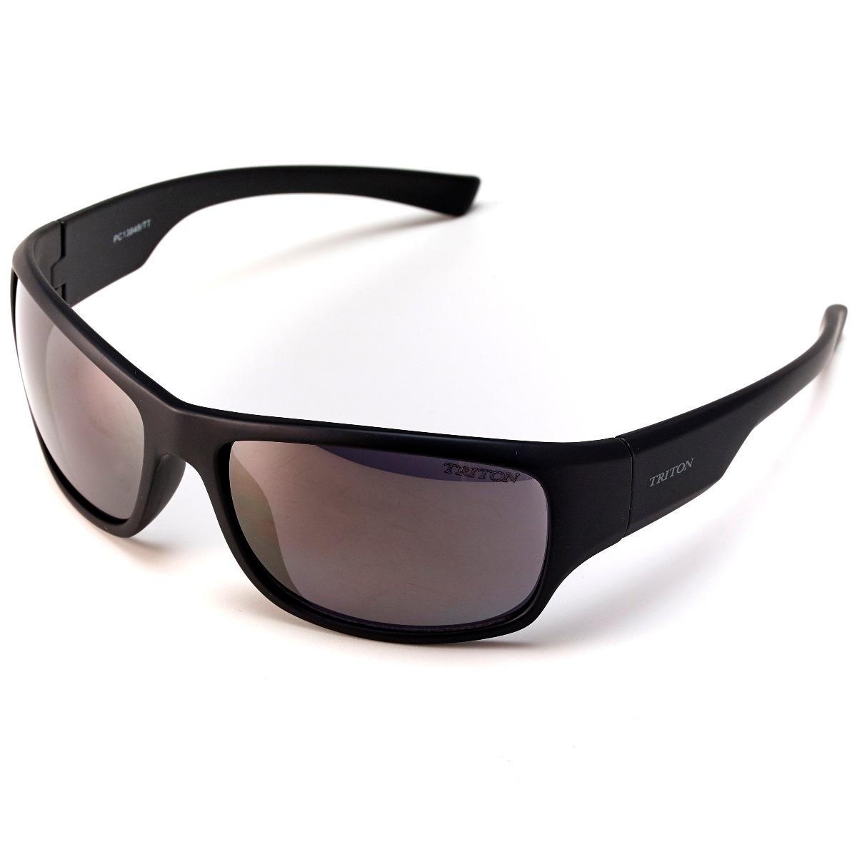 Óculos Triton 13848 - Preto Fosco - Acetato - 12x Sem Juros - R  219,00 em  Mercado Livre 865bdb2789