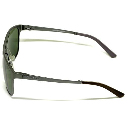 1370bc17b559e Óculos Triton Aluminio Pla262 Cinza escuro - R  199,00 em Mercado Livre