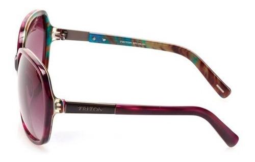 óculos triton hpc166 - feminino - roxo - 12x sem juros