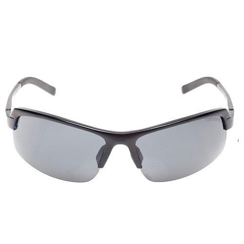 40804fe785d06 Óculos Triton Pla024 - Alumínio Preto Fosco Lente Polarizada - R ...
