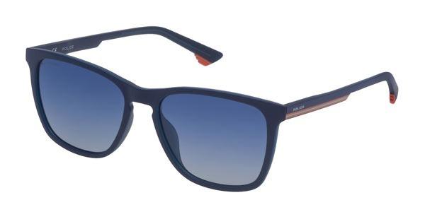2b612e5575868 Óculos Unisex De Sol Police Spl 573- U58p Azul - R  750