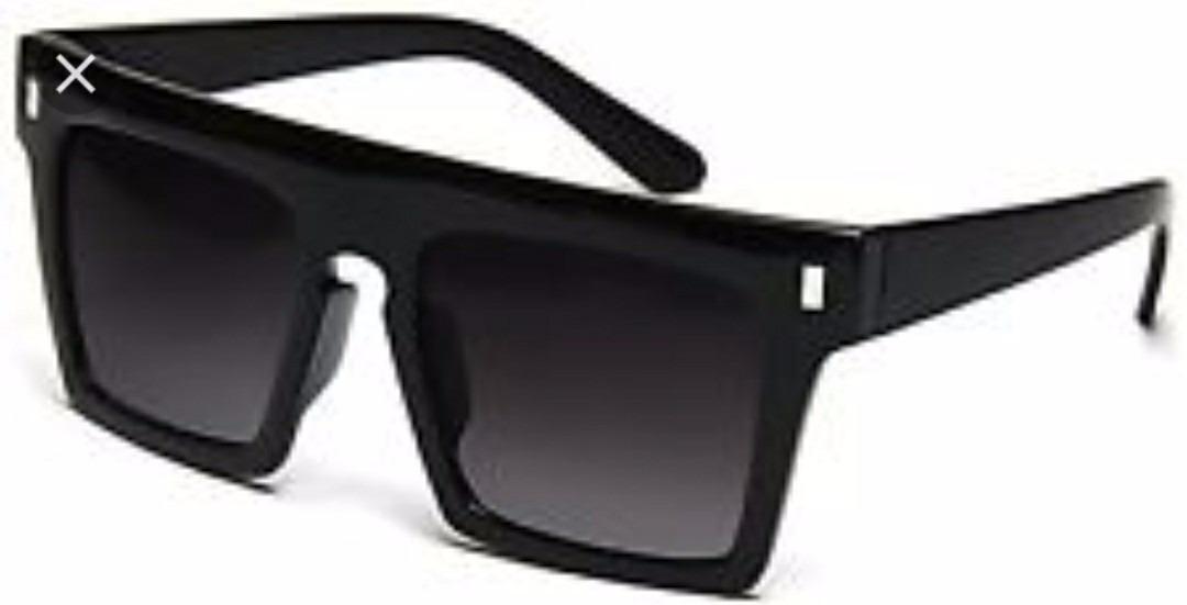 de78f5f88 óculos unissex preto modelo esportivo quadrado surfista luxo. Carregando  zoom.