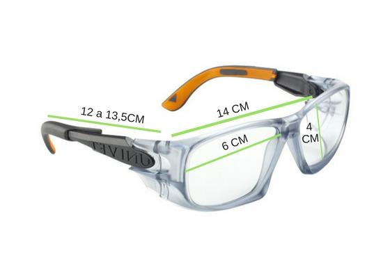 d26aeb3716772 Oculos Univet Incolor Ideal Para Lentes De Grau - R  75,99 em ...