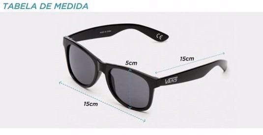 fa809ce480fe7 Óculos Vans Spicoli Preto Fosco - Frete Grátis - R  239,90 em ...