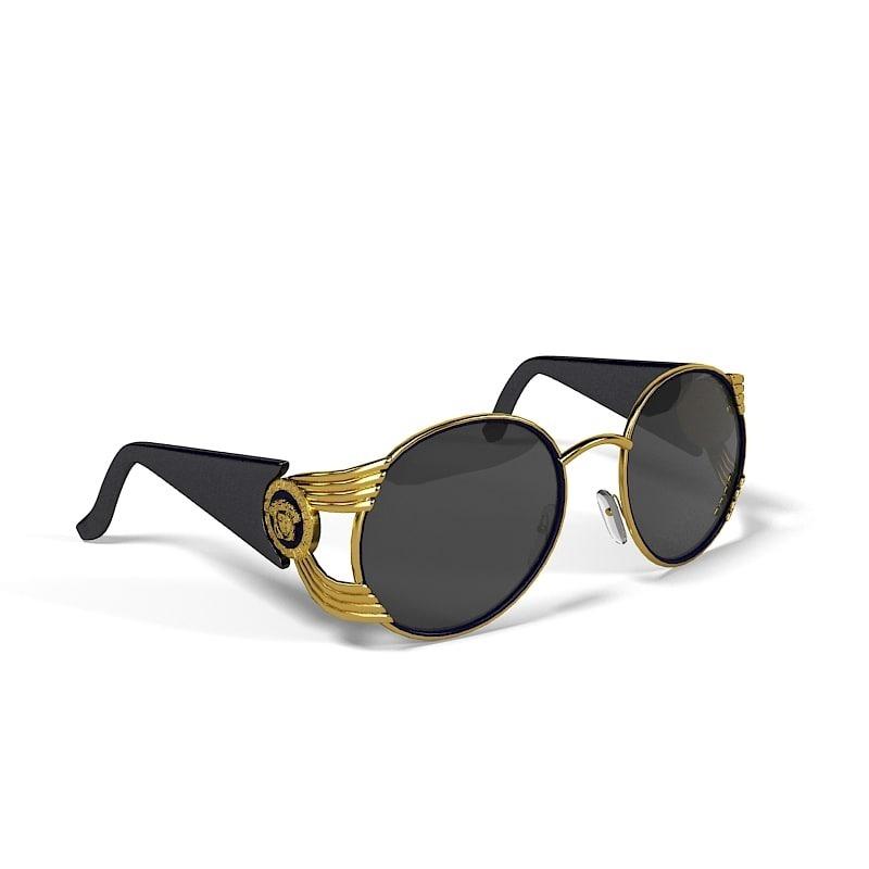 64452f57d2f98 óculos versace original redondo masculino gucci burberry. Carregando zoom.