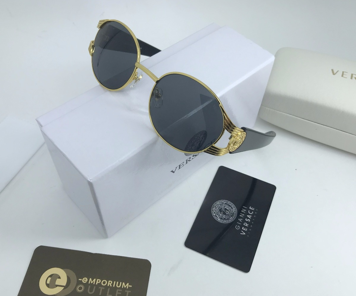 3db5352033989 óculos versace original redondo masculino gucci burberry. Carregando zoom.