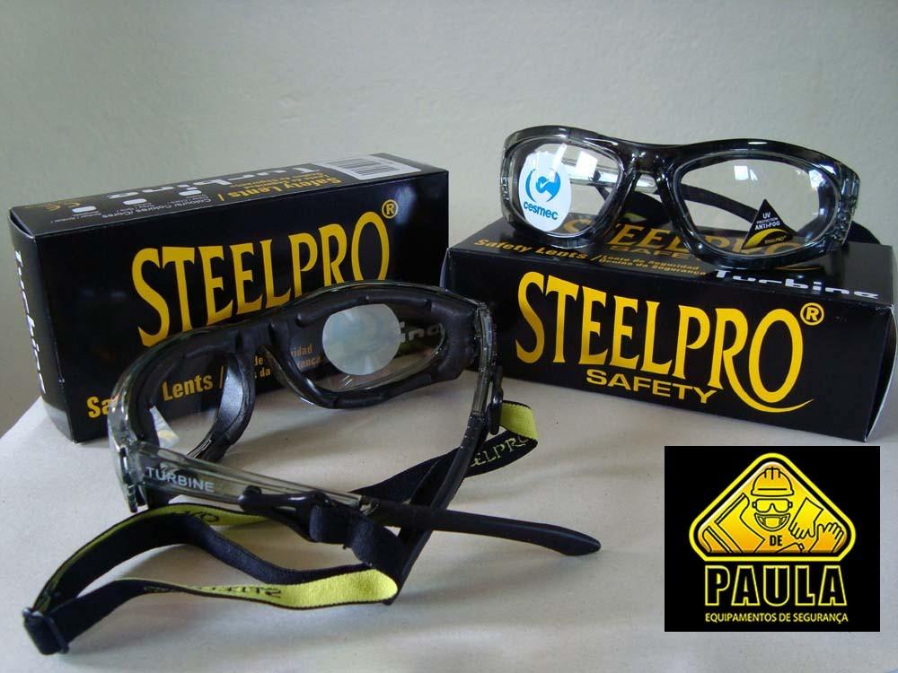 oculos vicsa steelpro turbine incolor - coloca lente de grau. Carregando  zoom. 2e3a245e1d