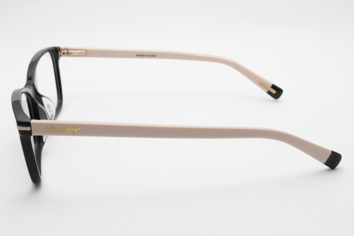 890a716346e7c Óculos Victor Hugo Vh1703 700y 54 - Grau L3 - R  650,00 em Mercado Livre