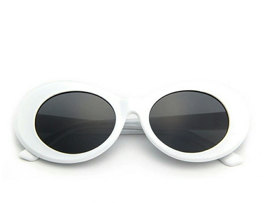 f969c3729 óculos vintage branco kurt cobain retro grunge rock. Carregando zoom.