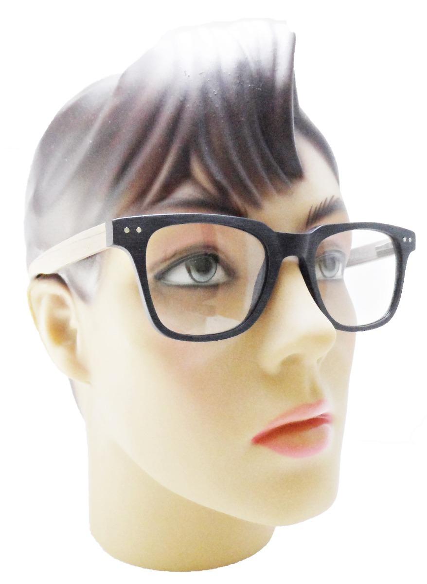 4e41f156b0a4b oculos vintage quadrado feminino armacao grau estilo madeira. Carregando  zoom.