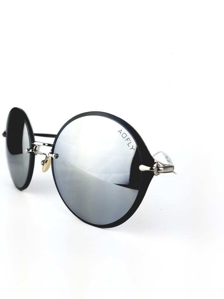 65d1cb6674 óculos vintage retrô metal lente escura espelhada uv400. Carregando zoom.