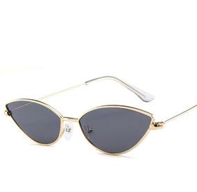 298ec0b17 Oculos Vintage Retro Olho De Gato Triangulo Moda + Brinde