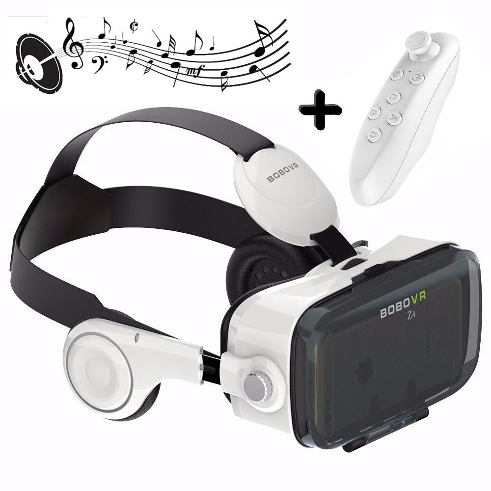 óculos virtual bobo vr z4 fone acoplado + controle bluetooth. Carregando  zoom. 936b5b815b