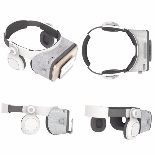 óculos virtual bobo vr z5 fone acoplado + controle gratis