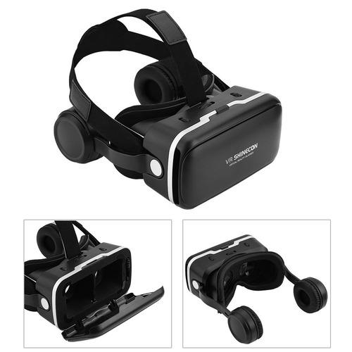 c72d331db Óculos Virtual Shinecon 6.0 + Controle + Jogos + Cabo Pc - R$ 249,00 ...