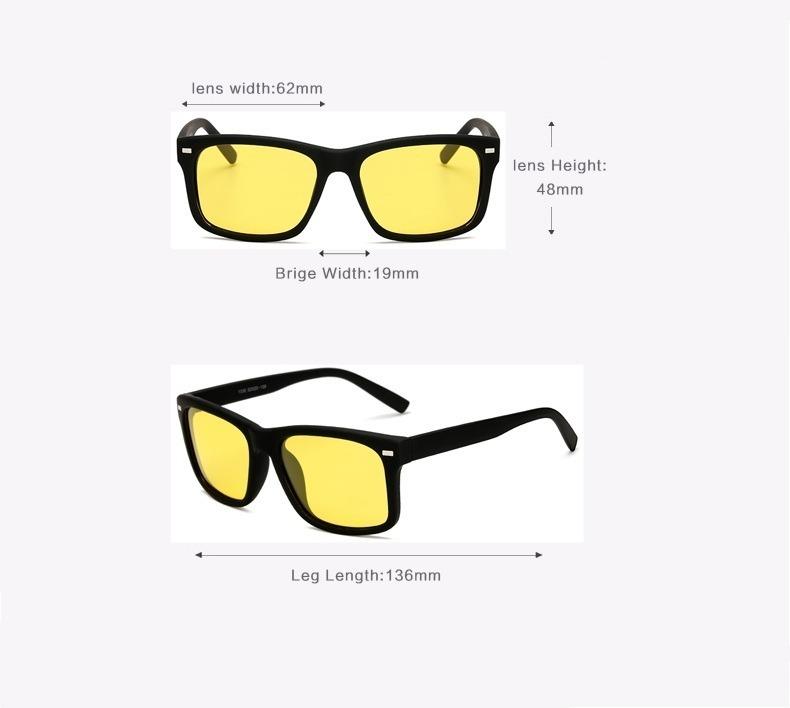 6b3e012db9beb Óculos Vision Noturno Lente Amarela Para Dirigir À Noite - R  39,90 ...
