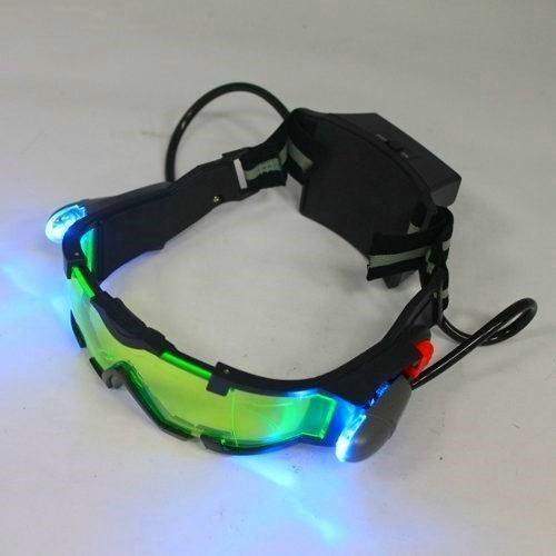 Óculos Visão Noturna Com Luzes Flip-out Obs Leia A Descrição - R  148,90 em  Mercado Livre 8ca41bc708