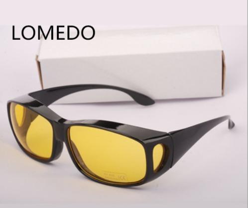 ad531a8f6aba2 Óculos Visão Noturna P  Dirigir A Noite Lente Amarela Pronta - R  55,00 em  Mercado Livre
