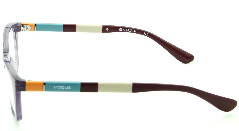 254283c50ecd4 Carregando zoom... armação para óculos de grau vogue vo 2969 feminina retrô