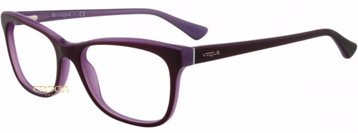 1795b822b Óculos Vogue De Grau 2763 2015 Feminino - R$ 330,00 em Mercado Livre