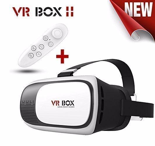 2a6b889a9188f Óculos Vr Box 2.0 Realidade Virtual 3d Android Ios Controle - R  85 ...