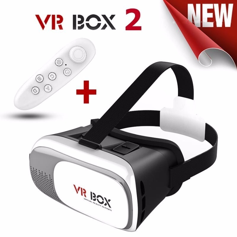 98e77c94f óculos vr box 2.0 realidade virtual 3d android ios +controle. Carregando  zoom.