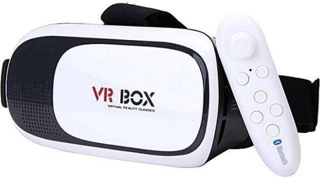 4c4733b36c0ea Óculos Vr Box 2.0 Realidade Virtual 3d + Controle Bluetooth - R  55 ...