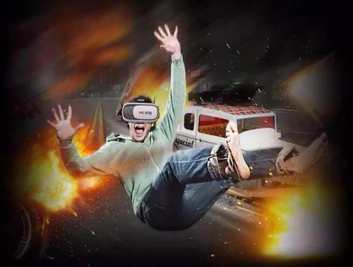 óculos vr realidade virtual 3d celular smartphone + controle