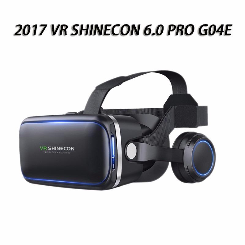 Óculos Vr Shinecon 6.0 Fone Real Virtual + Controle + Jogos - R  266 ... 987b880059