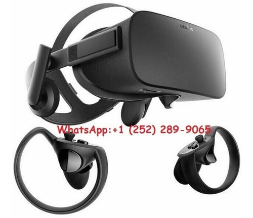 oculus rift cv1 virtual reality with controllers sensors