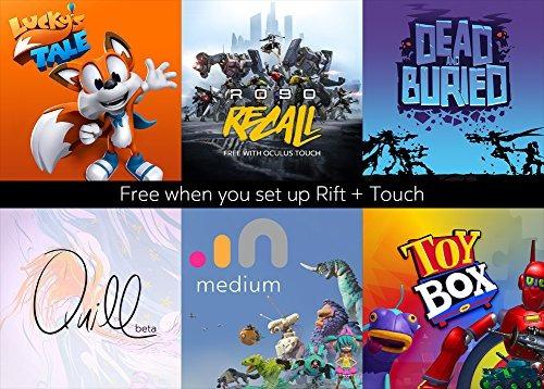 oculus rift + touch sistema de realidad virtual