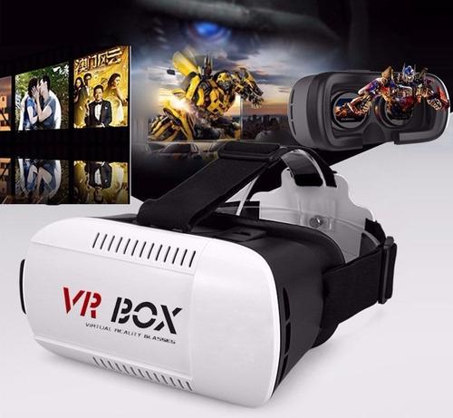 oculus vr box 3d tipo gafas samsung gear + control bluetooth