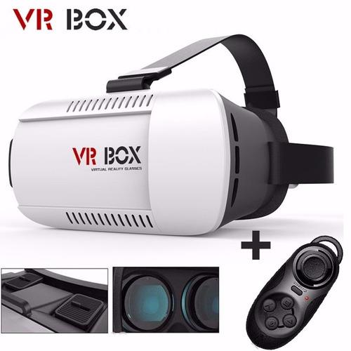 oculus vr box tipo gafas samsung gear + control bluetooth