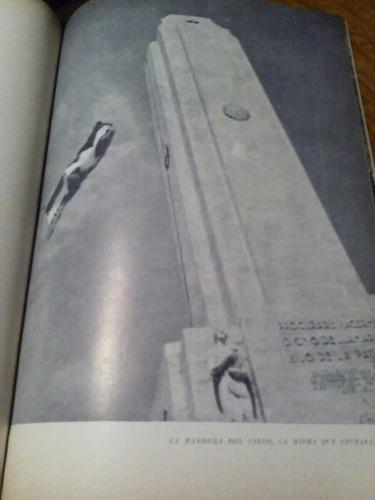 oda al monumento nacional a la bandera. e. g. bourguignon.