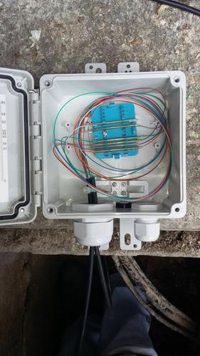 odf caja de empalme fibra optica indoor / outdoor