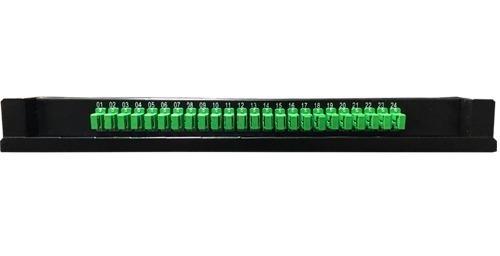 odf pachera fibra optica conectorizada sc/apc 24 puertos