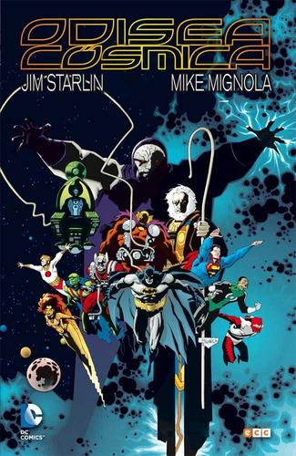 odisea cósmica - new gods - dc ecc comics - robot negro