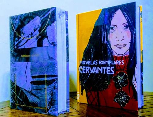 odisseia de homero + novelas exemplares - kit cosac e naify
