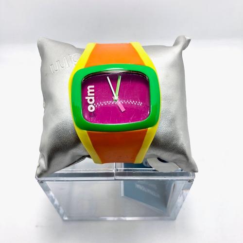 odm reloj analógico colores para mujer, poco uso