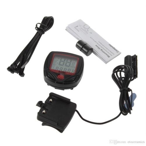 odómetro waterproof velocímetro para bicicleta