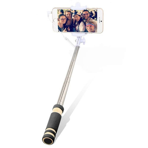 oenbopo mini wired selfie stick universal ext + envio gratis