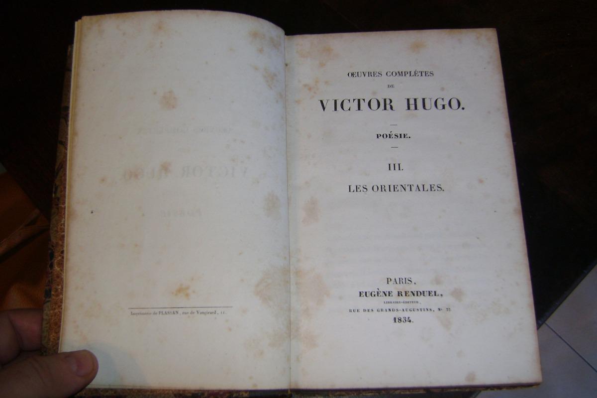 Oeuvres Completes De Victor Hugo Edicion 1834 Serie 121