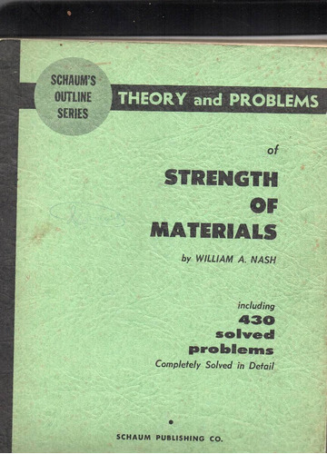of strength of materials by william a, nash