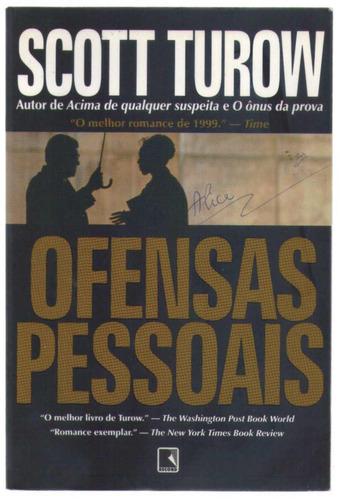 ofensas pessoais - scott turow