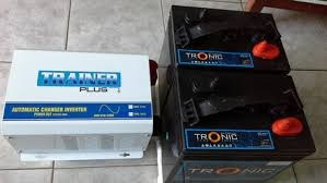 oferas baterias  trojan black  de  inversores