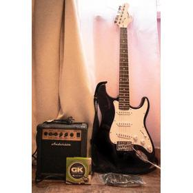 Oferta  Guitarra Eléctrica + Ampli 10w + Accesorios Oferta