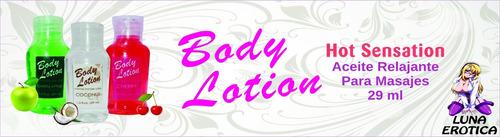 oferta 2 aceite hot lubricante body lotion estimula sex oral